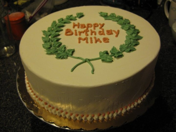7 Mike Birthday Cakes With Name Photo Happy Birthday Mike Cake
