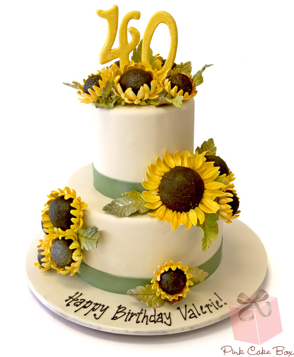 Awe Inspiring 10 Sunflower Sweet 16 Birthday Cakes Photo Sunflower Birthday Funny Birthday Cards Online Necthendildamsfinfo