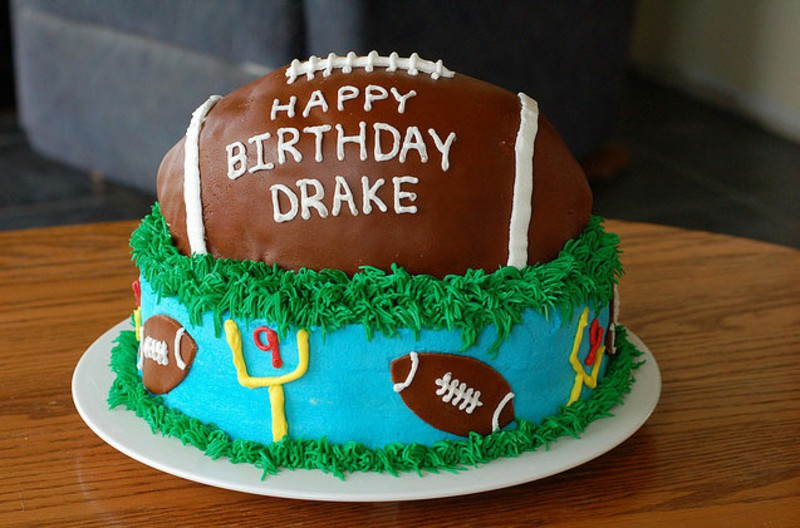 Half Birthday Cake Source 8 12 Boy Football Cakes Photo Soccer Boys