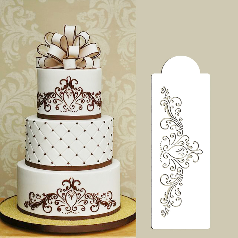 12 lace templates for cakes photo wedding cake lace for Lace templates for cakes