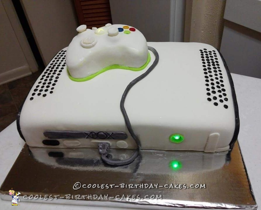 11 Really Cool Gamer Birthday Cakes Photo Video Game Birthday Cake