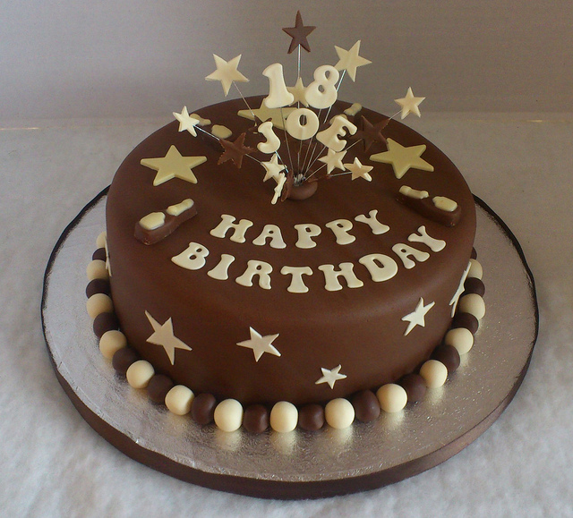 11 18th Birthday Cakes For Guys Photo