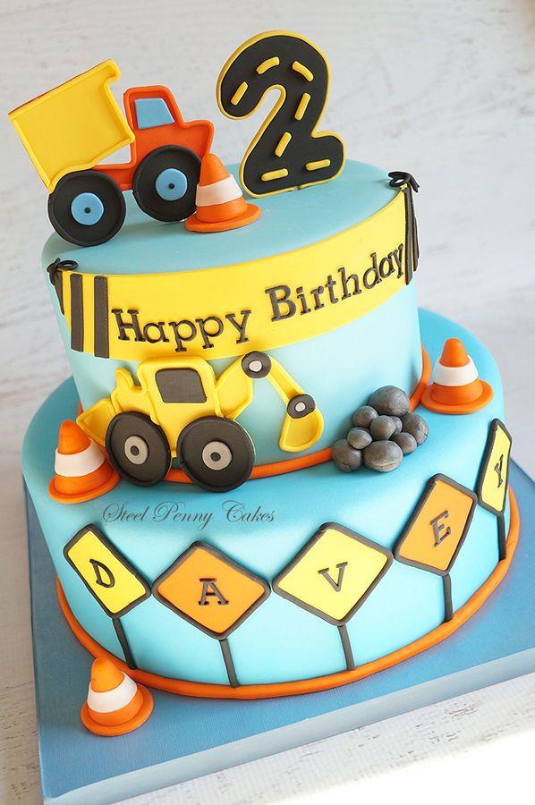 12 Second Birthday Cakes For Boy Photo Boys 2nd Birthday Cake