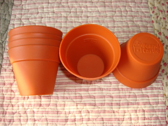 Flower Pot Silicone Baking Cups & 7 Silicone Flower Pots For Cupcakes Photo - Flower Pot Cupcakes ...