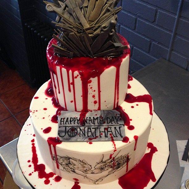 Game Of Thrones Happy Birthday Cake