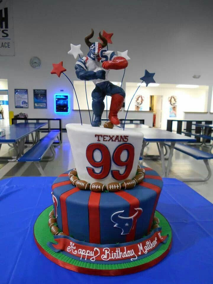 Houston Texans Cakes Ideas