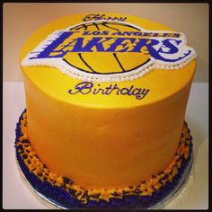 Lakers Birthday Party Cakes