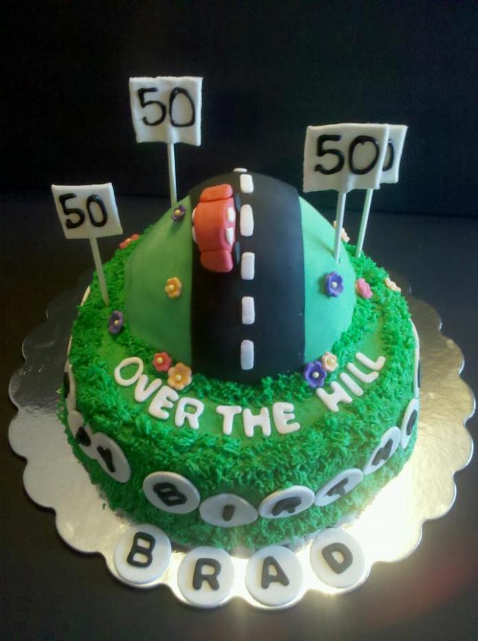 8 Fifty Birthday Cakes For Men Photo