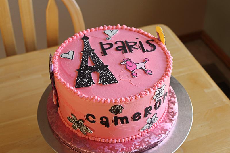 10 Birthday Cakes Paris France Photo Paris Birthday Cake Paris