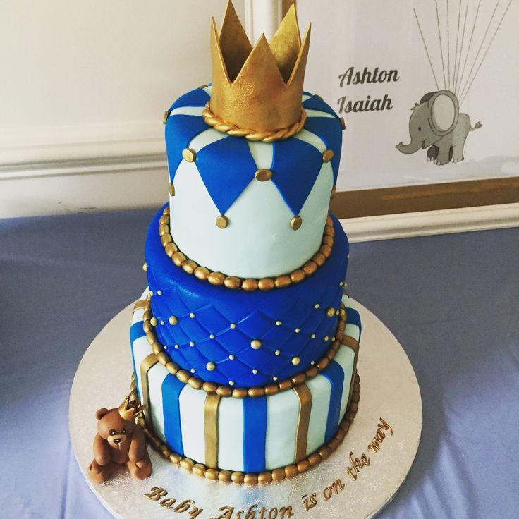 12 Prince Cakes For Boys Photo Royal Prince Baby Shower Cake