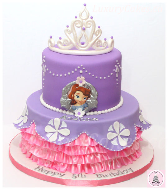 10 Simple Sofia The First Cakes Photo Sofia The First Birthday