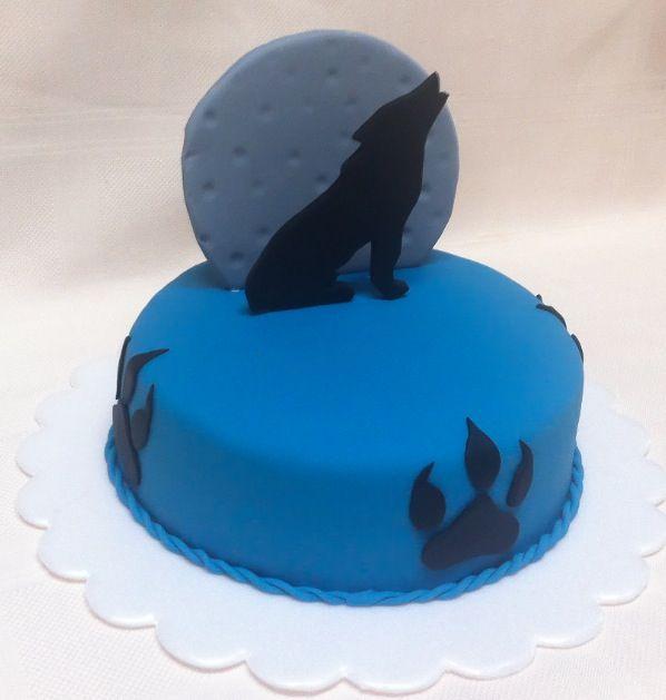 13 Homemade Birthday Cakes Wolves Photo Wolf Birthday Cake Ideas