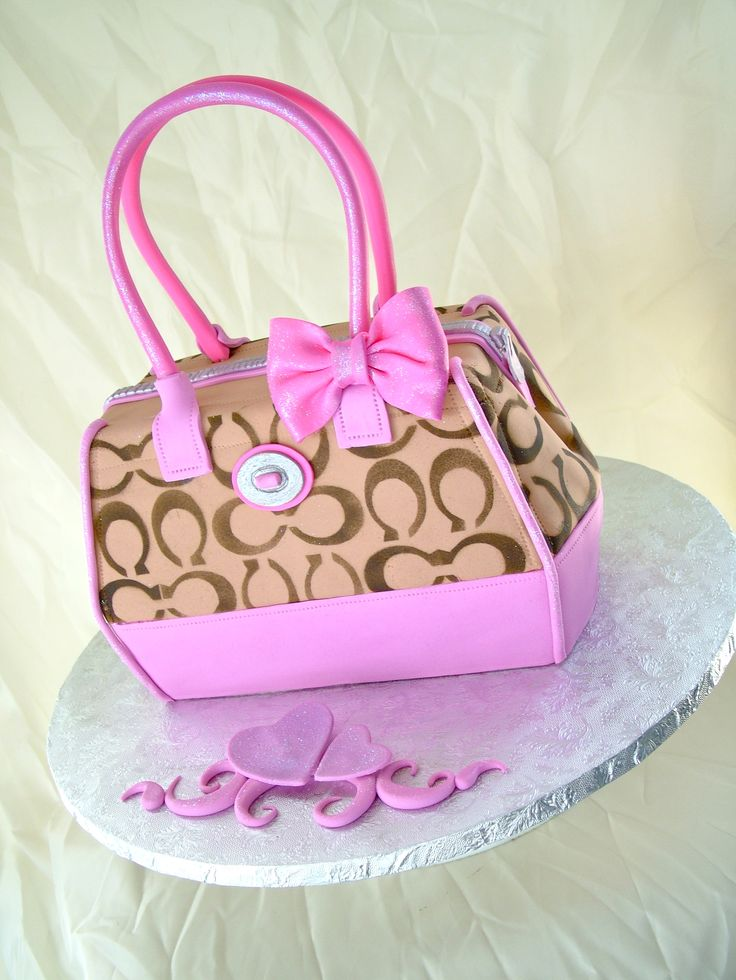 Purse Birthday Cake Images Cake Image Diyimages Co