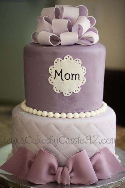 Cute Birthday Cake Ideas For Mom