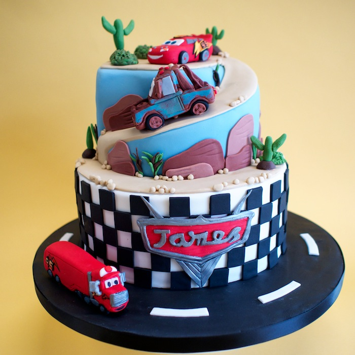 10 Disney Cars Birthday Cakes For Boys Photo Disney Cars Birthday