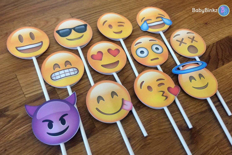 Emoji Birthday Cake Cupcakes