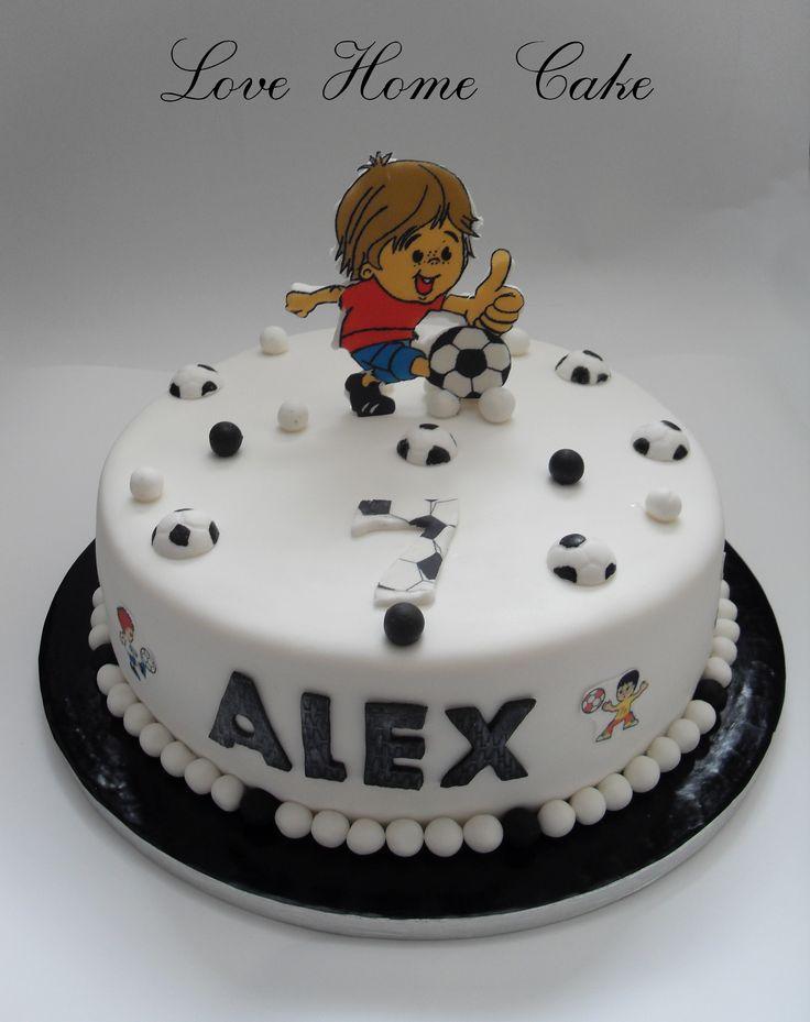 8 Football Cakes For Boys Photo Creative Boys Birthday Cakes