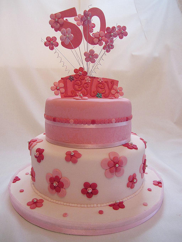 11 50th Birthday Cakes For Women Photo 50th Birthday Cake Ideas
