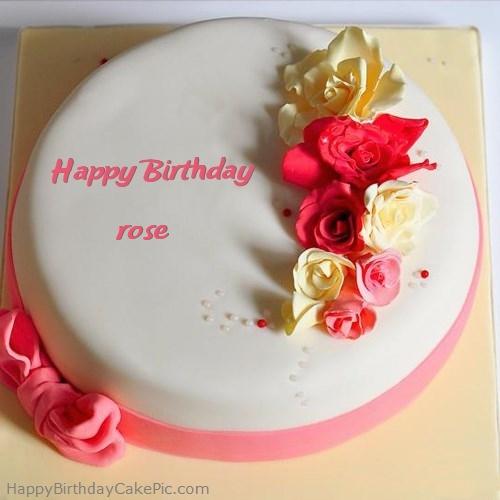 11 Rose Happy 86th Birthday Cakes Photo Happy Birthday Rose Cake