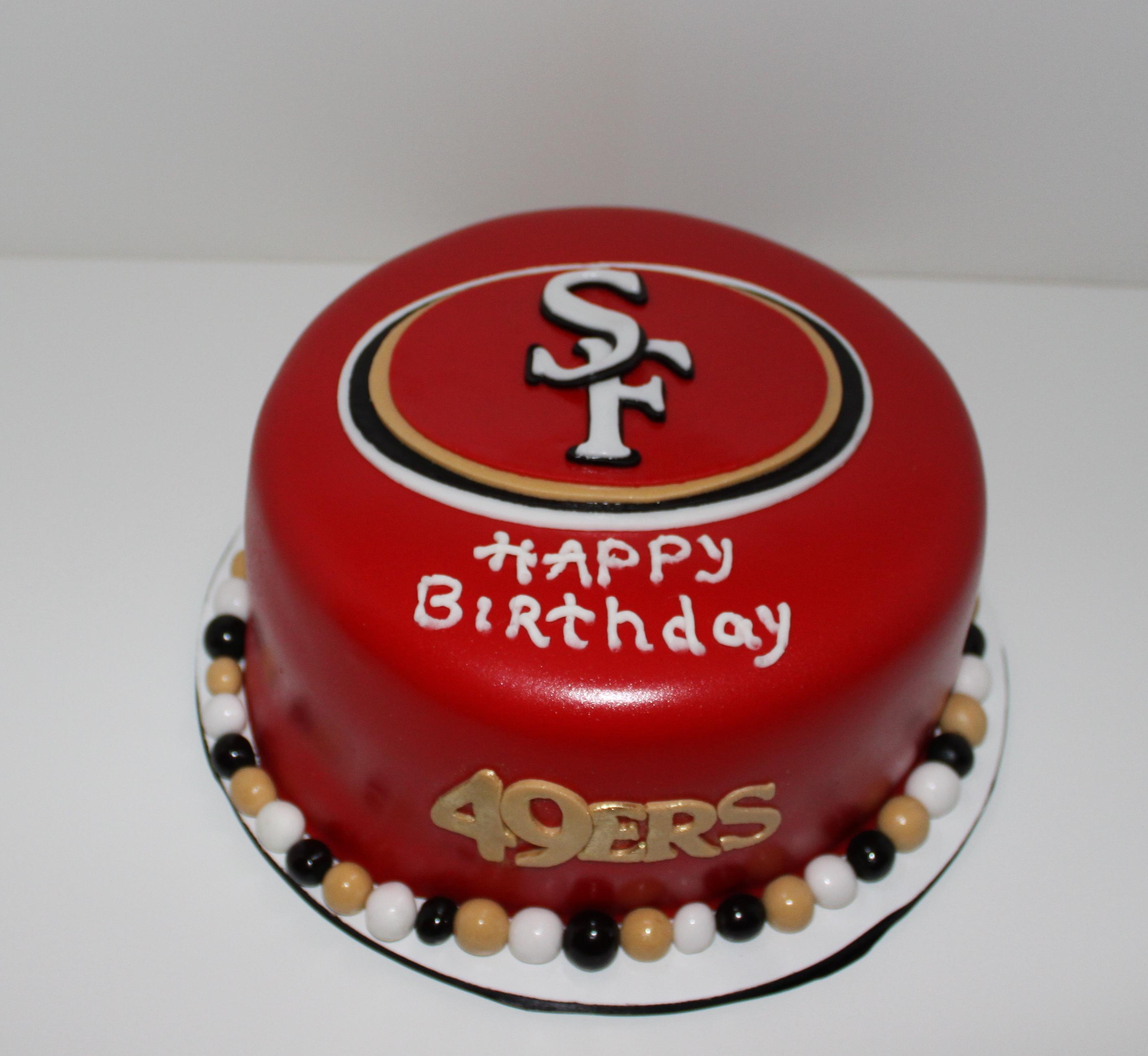 13 San Francisco 49ers Football Cakes Photo San Francisco 49ers