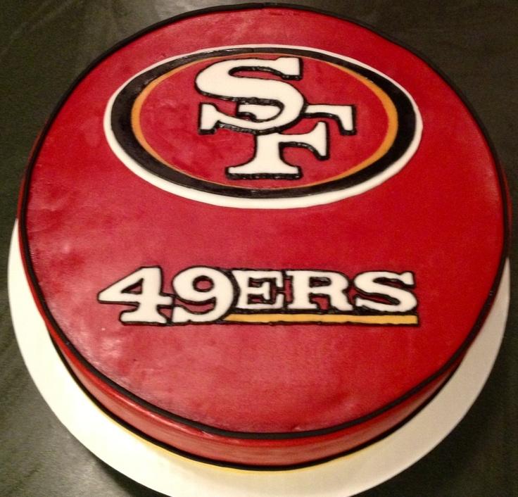 San Francisco 49ers Cake
