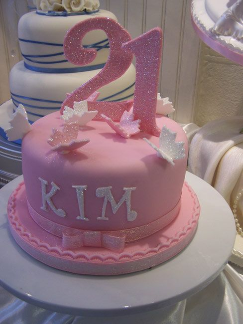 10 Simple 21st Birthday Cakes For Girls Photo Girls 21st Birthday