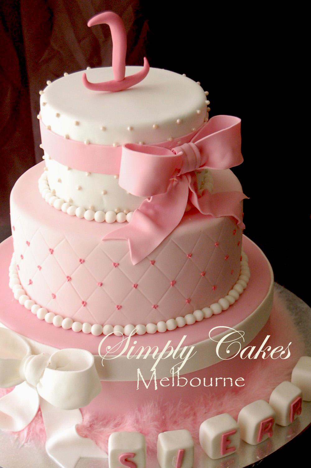 10 1st Birthday 1 Tier Cakes Photo 3 Tier Princess Birthday Cake