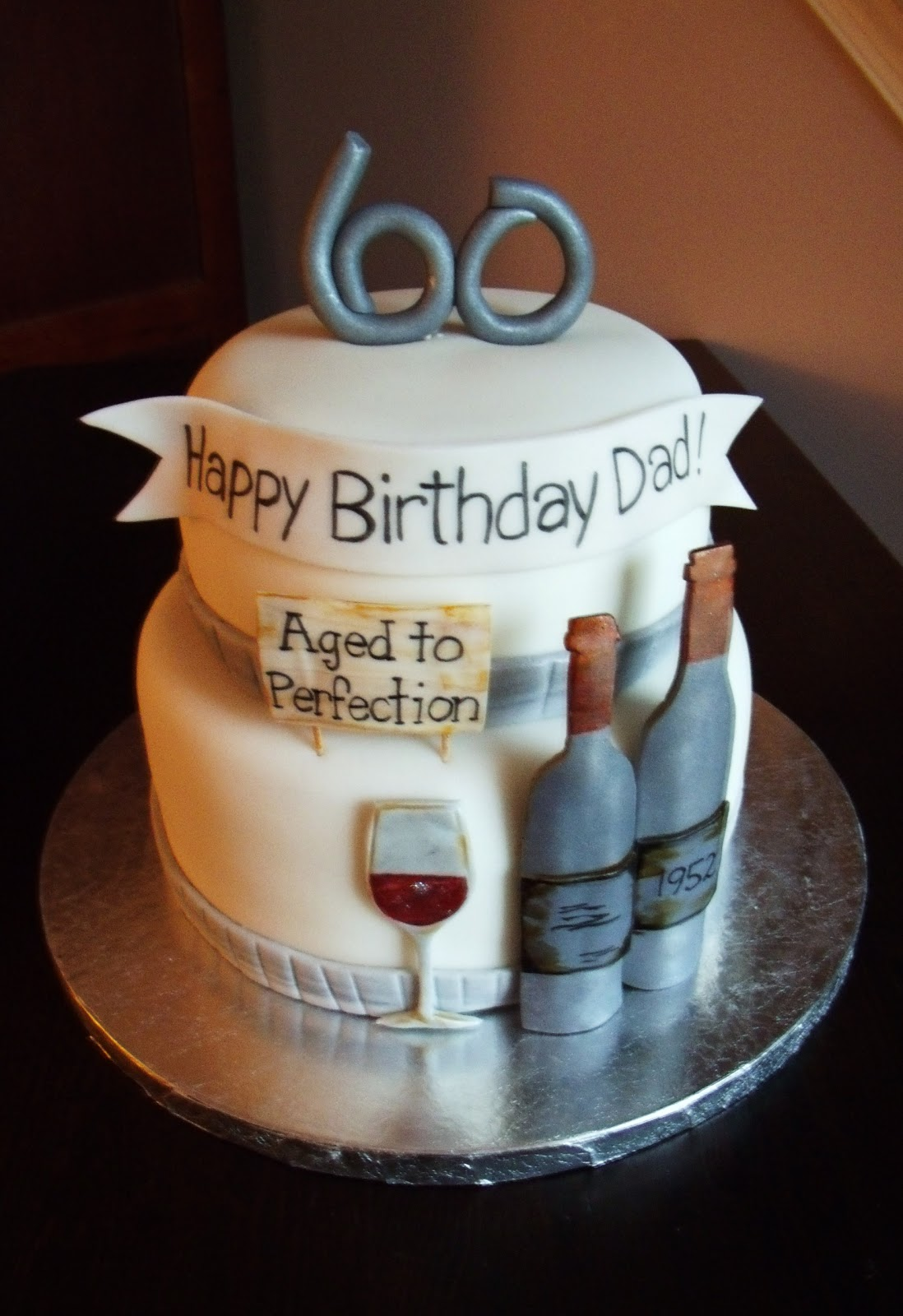 60th Birthday Party Cake Ideas