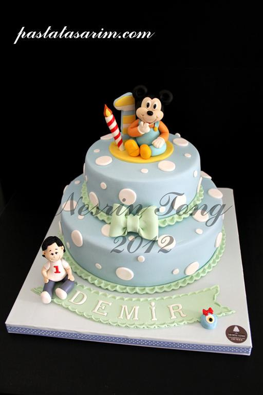 Strange 13 1St Baby Mickey Mouse Cakes Photo Baby Mickey Mouse Cake Funny Birthday Cards Online Alyptdamsfinfo