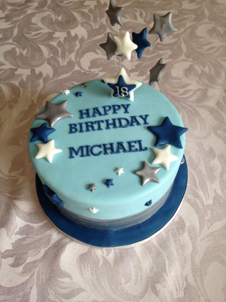 10 18th Birthday Cakes For Boys Photo Boys 18th Birthday Cake