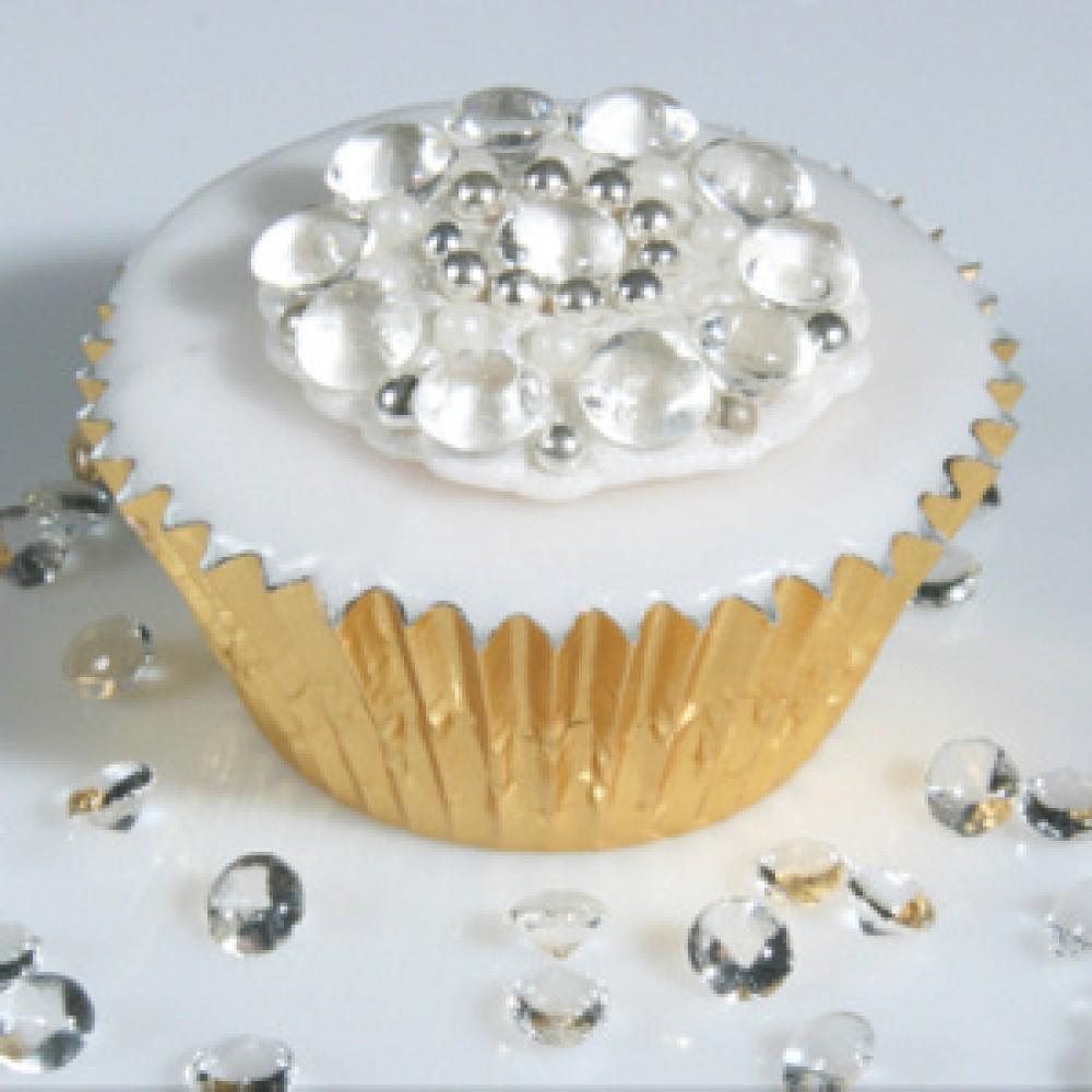11 Diamond Birthday Cupcakes Photo Edible Diamond Cake Decorations