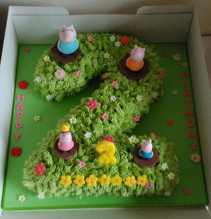12 Cakes Shaped Like Number 2 Photo Number 2 Shaped Birthday Cakes