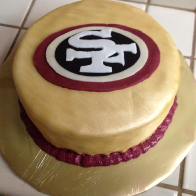 12 Forty Niners Birthday Cakes Photo 49ers Birthday Cake 49ers