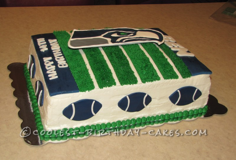 13 Seahawks Football Cakes Designs Photo