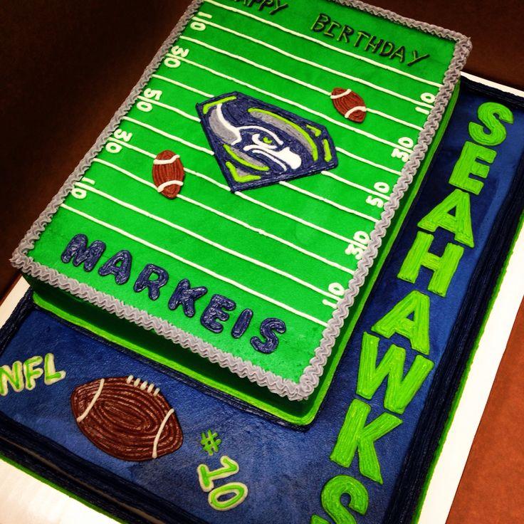 13 Seahawks Football Cakes Designs Photo Seattle Seahawks Football