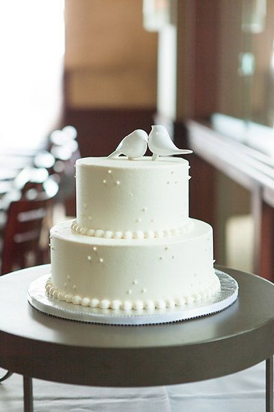 9 Simple Wedding Cakes For Beginners Photo Small Simple Wedding