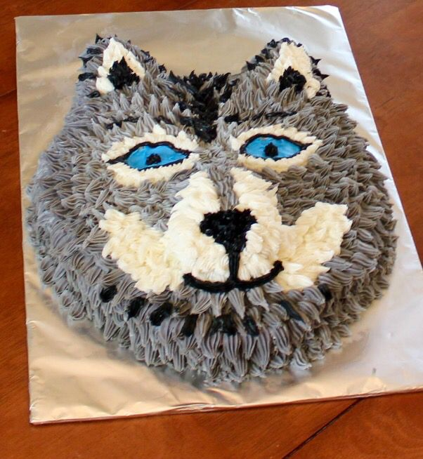 11 Beautiful Wolf Cakes Photo Birthday Cake Image For Wolf Howling