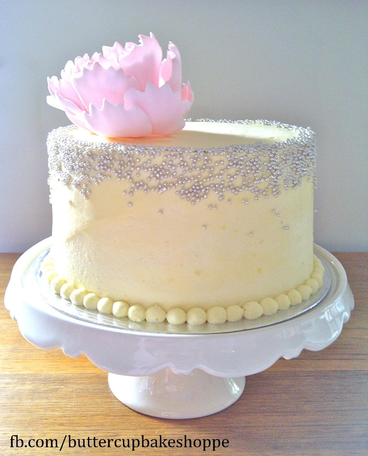 11 Elegant Buttercream Birthday Cakes For Women Photo Elegant Rose