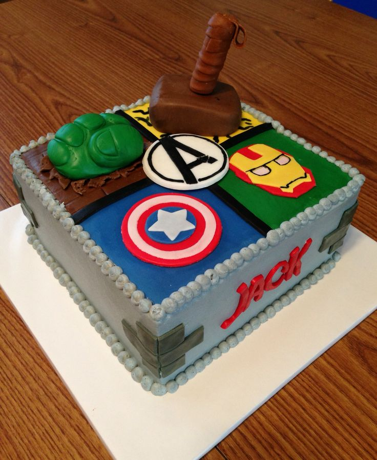 Wondrous 10 Awesome Thor Cakes Photo Avengers Cake Happy Birthday Cake Personalised Birthday Cards Paralily Jamesorg
