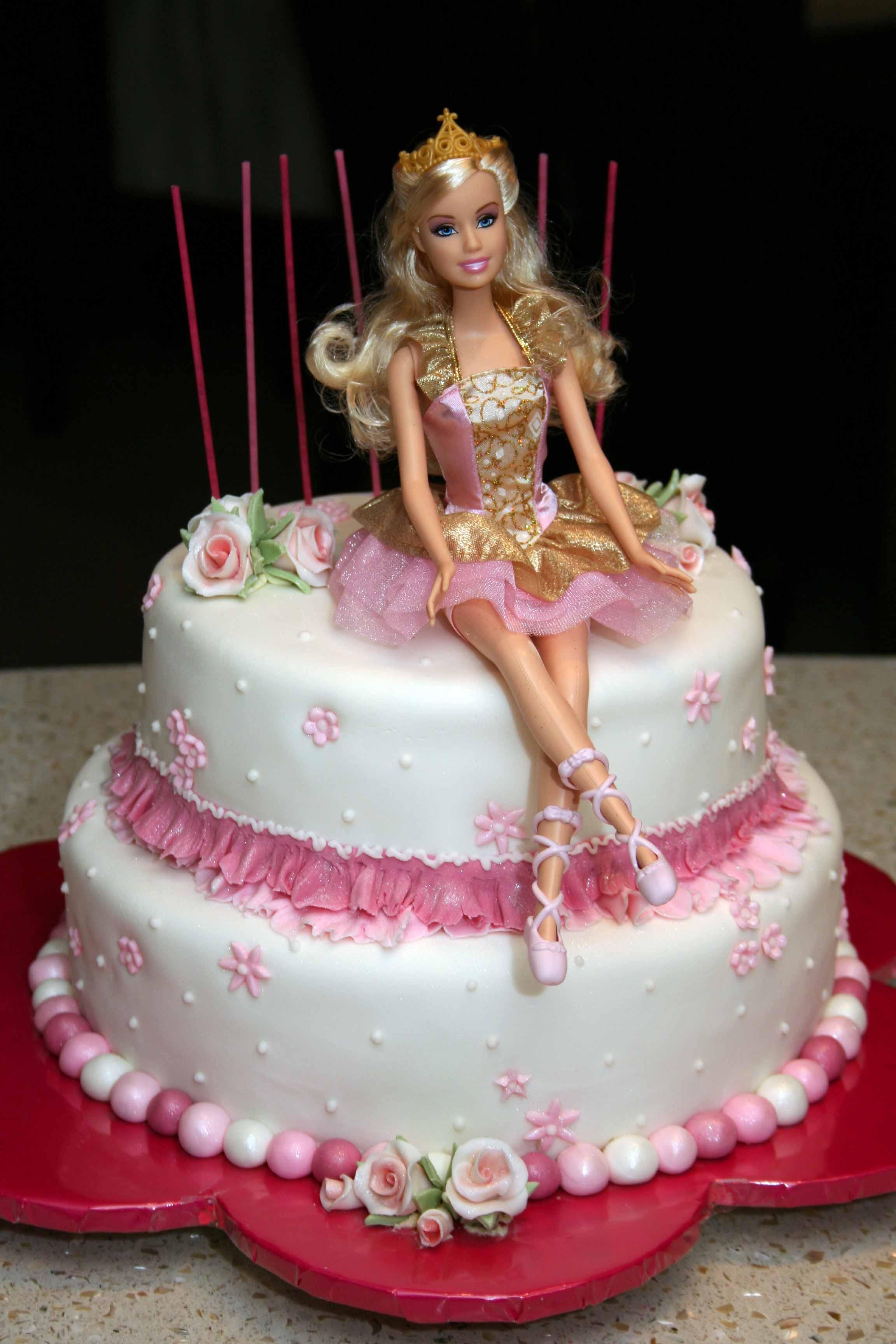 13 Nutcracker Barbie Birthday Cakes Photo Nutcracker Birthday Cake