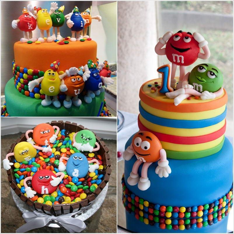 Fantastic 10 M M Themed Birthday Cakes Photo M Birthday Cake Idea Mm Birthday Cards Printable Giouspongecafe Filternl