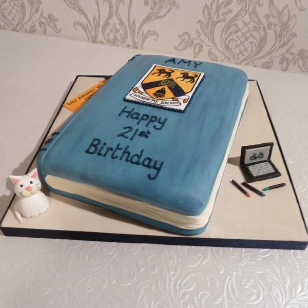 Groovy 8 Book Birthday Cakes For Girls Photo Mean Girls Burn Book Book Personalised Birthday Cards Xaembasilily Jamesorg