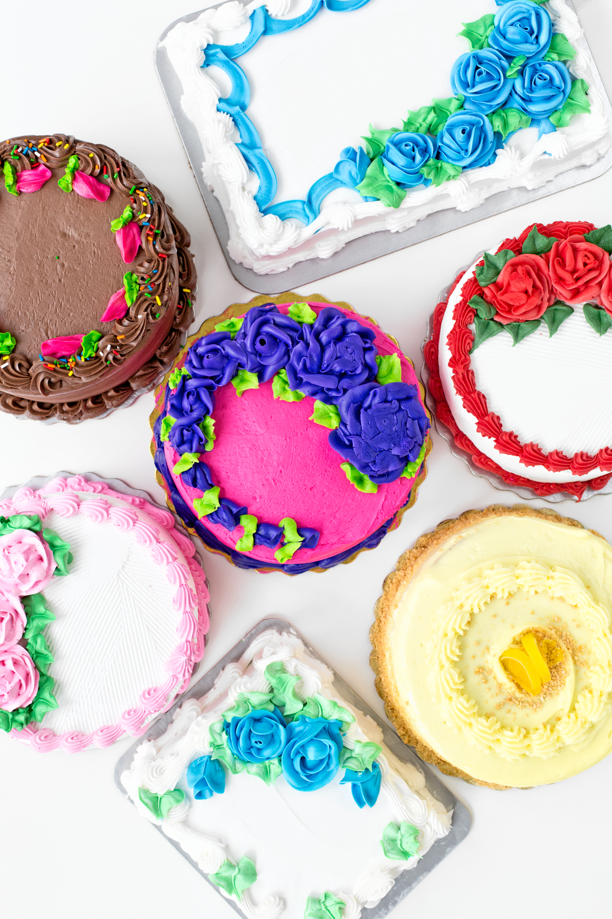 8 Grocery Store Bought Birthday Cakes Photo Cake Grocery Store