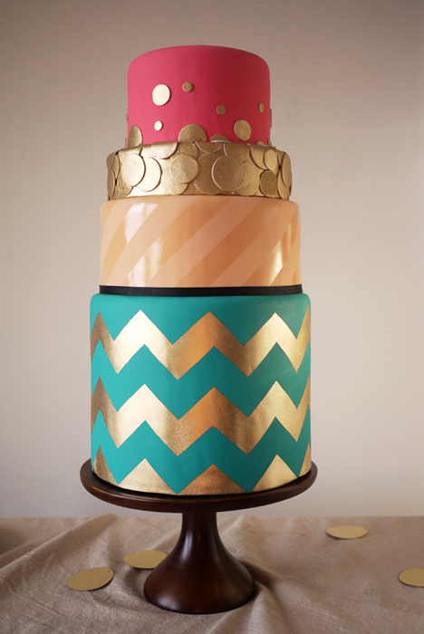 12 Modern Birthday Cakes Photo Modern Birthday Cake Designs