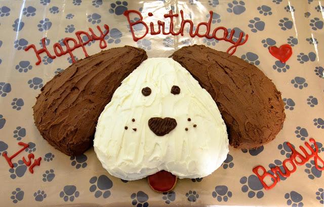Dog Bone Shaped Birthday Cakes