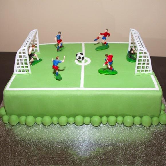 10 Football Birthday Cakes Design Photo Football Birthday Cake