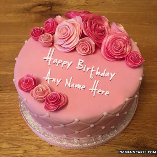 Outstanding 9 Pink Cakes For Women Photo Pink Tier Birthday Cake Girls Personalised Birthday Cards Veneteletsinfo