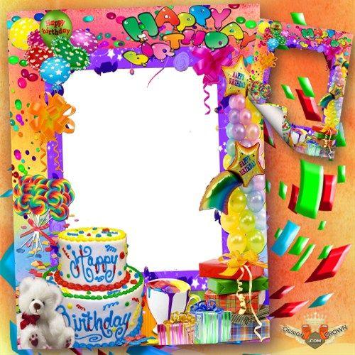 9 Fram Cakes For Boys Photo - Happy Birthday Frames, Happy Birthday ...