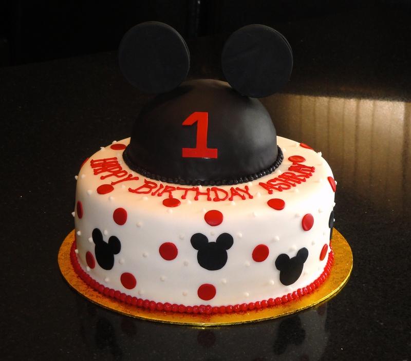 Peachy 6 Birthday Of Mickey Mouse 1St Birthday Cakes For Boys Photo Personalised Birthday Cards Akebfashionlily Jamesorg