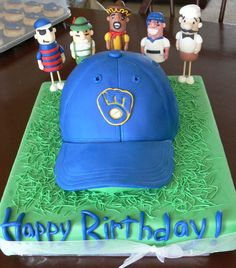 Superb 12 Birthday Cakes In Milwaukee Wi Photo Milwaukee Brewers Funny Birthday Cards Online Hetedamsfinfo